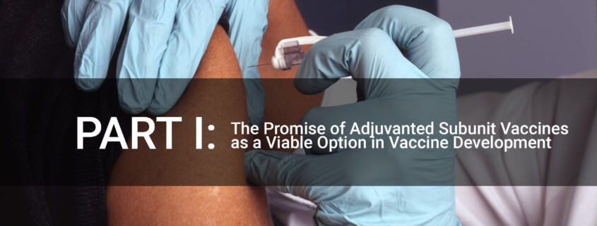 A subunit vaccine's advantage is several-fold, including not needing to grow and inactivate live viruses (or create an attenuated virus strain) and use the most antigenic portion of the virus antigen in question.